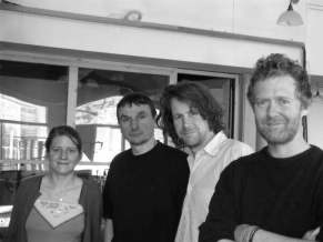 Marketa Irglova, Pavel Karlik, Liam O´Maonlai and Glen Hansard